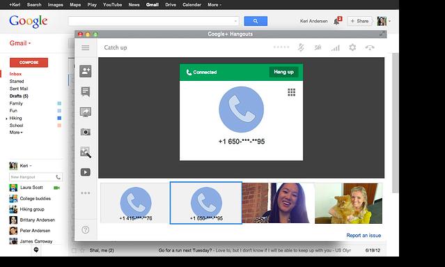 google hangout montreal